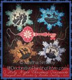 O Holy Night Ornies Pattern - Martha Smalley - PDF DOWNLOAD