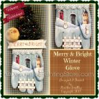 Merry and Bright Winter Glove ePattern - Martha Smalley - PDF DOWNLOAD