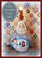 Father Snowflake Gourd Light ePattern - Martha Smalley - PDF DOWNLOAD