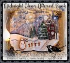 Midnight Clear Altered Book ePattern - Martha Smalley - PDF DOWNLOAD
