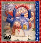 Chilly Days Teapot ePattern - Martha Smalley - PDF DOWNLOAD