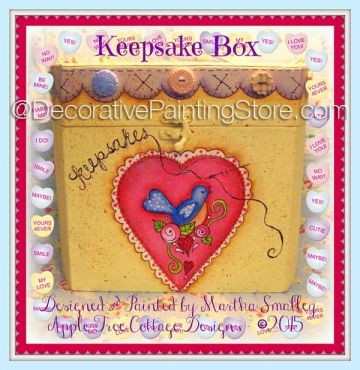 Keepsake Box ePattern - Martha Smalley - PDF DOWNLOAD