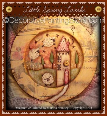 Little Spring Lambs ePattern - Martha Smalley - PDF DOWNLOAD