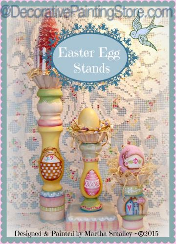 Easter Egg Stands ePattern - Martha Smalley - PDF DOWNLOAD