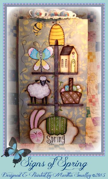Signs of Spring ePattern - Martha Smalley - PDF DOWNLOAD