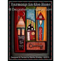 Harmony in the Home ePattern - Martha Smalley - PDF DOWNLOAD