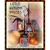 Little Autumn Houses ePattern - Martha Smalley - PDF DOWNLOAD