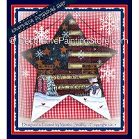 Americana Christmas Star ePattern - Martha Smalley - PDF DOWNLOAD