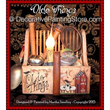 Olde Things ePattern - Martha Smalley - PDF DOWNLOAD