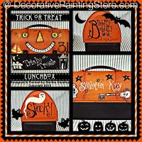 Trick or Treat Collage ePattern - Martha Smalley - PDF DOWNLOAD