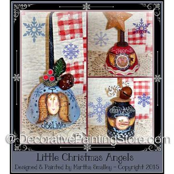 Little Christmas Angels ePattern - Martha Smalley - PDF DOWNLOAD