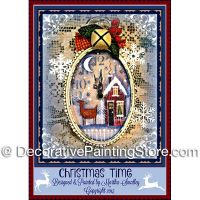 Christmas Time Clock ePattern - Martha Smalley - PDF DOWNLOAD