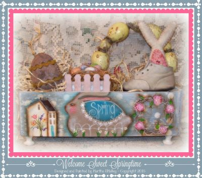Welcome Sweet Springtime ePattern - Martha Smalley - PDF DOWNLOAD
