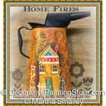 Home Fires ePattern - Martha Smalley - PDF DOWNLOAD