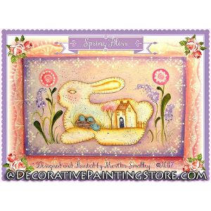 Spring Bliss Bunny ePattern - Martha Smalley - PDF DOWNLOAD
