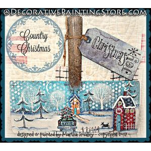 Country Christmas ePattern - Martha Smalley - PDF DOWNLOAD