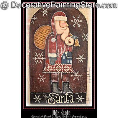Olde Santa ePattern - Martha Smalley - PDF DOWNLOAD