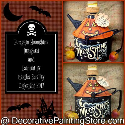 Pumpkin Moonshine ePattern - Martha Smalley - PDF DOWNLOAD