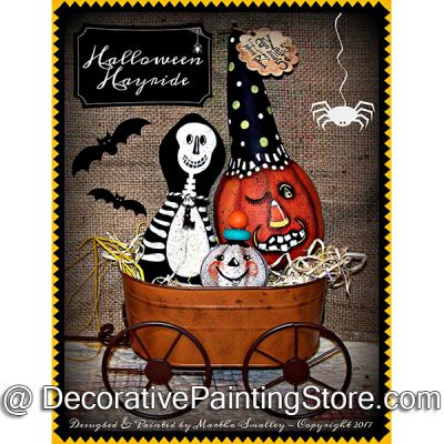 Halloween Hayride ePattern - Martha Smalley - PDF DOWNLOAD