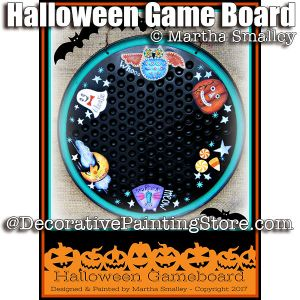 Halloween Game Board ePattern - Martha Smalley - PDF DOWNLOAD