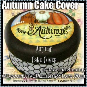Autumn Cake Cover ePattern - Martha Smalley - PDF DOWNLOAD