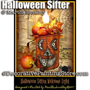 Halloween Sifter Welcome Light ePattern - Martha Smalley - PDF DOWNLOAD