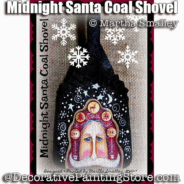 Midnight Santa Coal Shovel ePattern - Martha Smalley - PDF DOWNLOAD