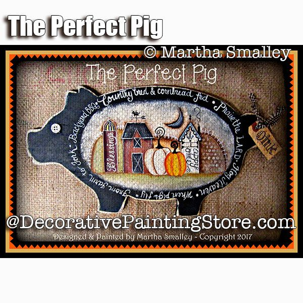 The Perfect Pig ePattern - Martha Smalley - PDF DOWNLOAD
