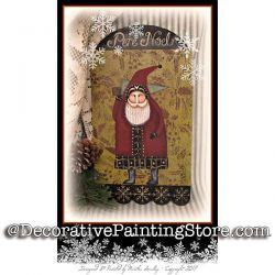 Pere Noel Collage ePattern - Martha Smalley - PDF DOWNLOAD