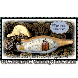 Winter Decoy ePattern - Martha Smalley - PDF DOWNLOAD
