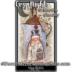 Cozy Nights Coffeepot ePattern - Martha Smalley - PDF DOWNLOAD