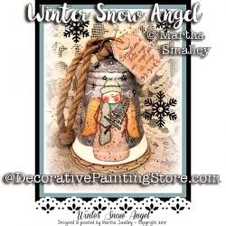 Winter Snow Angel ePattern - Martha Smalley - PDF DOWNLOAD