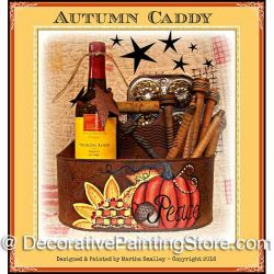 Autumn Caddy ePattern - Martha Smalley - PDF DOWNLOAD