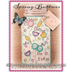 Spring Buttons ePattern - Martha Smalley - PDF DOWNLOAD
