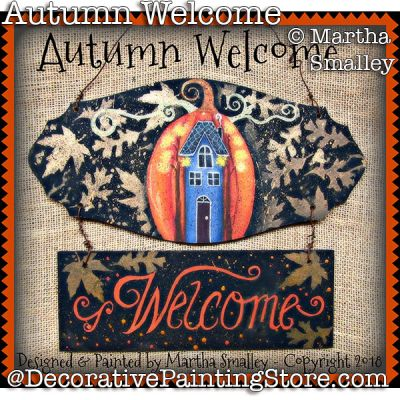 Autumn Welcome PDF DOWNLOAD - Martha Smalley