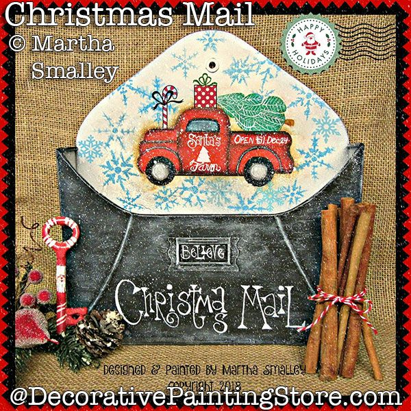 Christmas Mail PDF DOWNLOAD - Martha Smalley