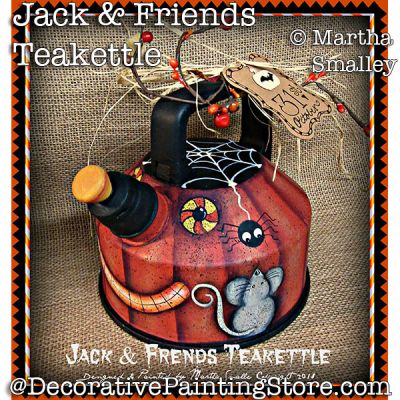 Jack and Friends Teakettle PDF DOWNLOAD - Martha Smalley
