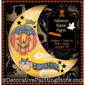 Halloween Balloon Flights DOWNLOAD - Martha Smalley