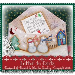 Letter to Santa DOWNLOAD - Martha Smalley