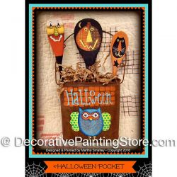 Halloween Pocket ePattern - Martha Smalley - PDF DOWNLOAD