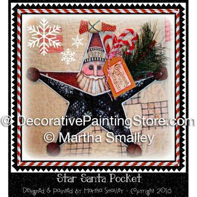 Star Santa Pocket ePattern - Martha Smalley - PDF DOWNLOAD
