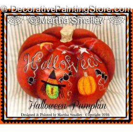 Halloween Pumpkin ePattern - Martha Smalley - PDF DOWNLOAD