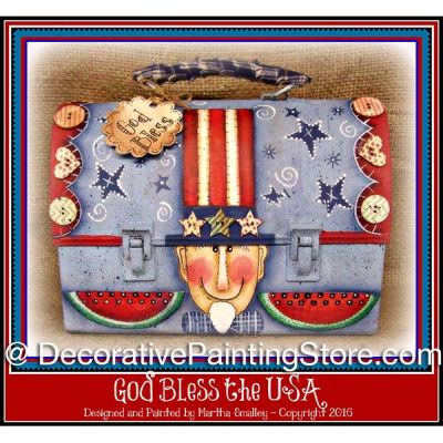 God Bless the USA ePattern - Martha Smalley - PDF DOWNLOAD