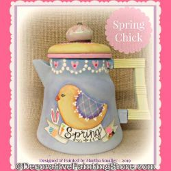 Spring Chick DOWNLOAD Painting Pattern - Martha Smalley