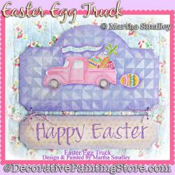 Easter Egg Truck DOWNLOAD Painting Pattern - Martha Smalley