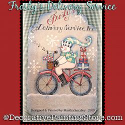 Frostys Delivery Service DOWNLOAD Painting Pattern - Martha Smalley