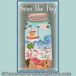 Seas the Day DOWNLOAD Painting Pattern - Martha Smalley