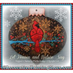 Let Heaven and Nature Sing DOWNLOAD Painting Pattern - Martha Smalley