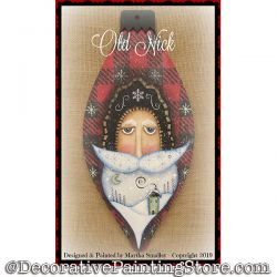 Old Nick (Santa) DOWNLOAD Painting Pattern - Martha Smalley