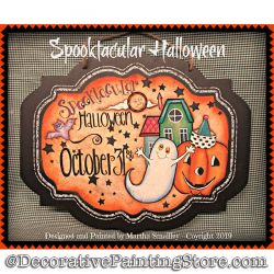 Spooktacular Halloween DOWNLOAD Painting Pattern - Martha Smalley